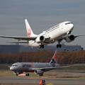 Photos: B737 JAL takeoff