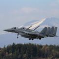 写真: F-15J 203sq Formation landing