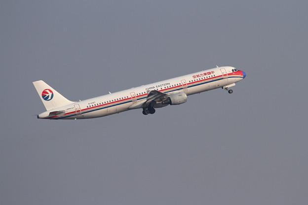 A321 青鼻の東方航空 B-6367