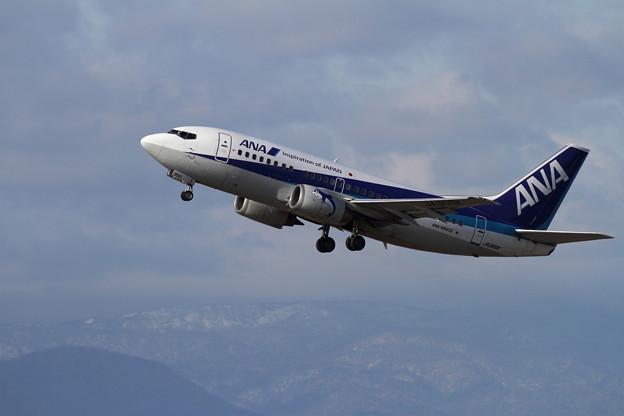 B737-500 ANA Wings JA300K