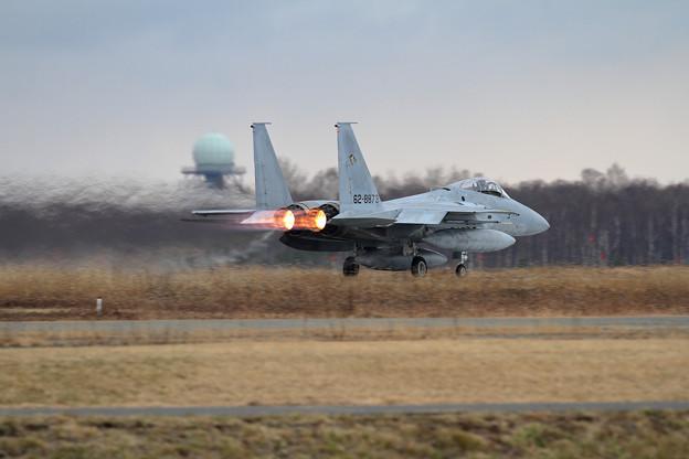 F-15 873 201sq takeoff