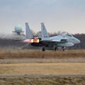 写真: F-15 873 201sq takeoff