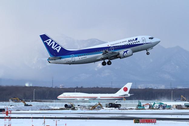 B737 ANA Wings JA307K tokeoff