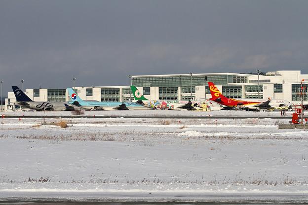A330x3 2017 CTS国際線ターミナル