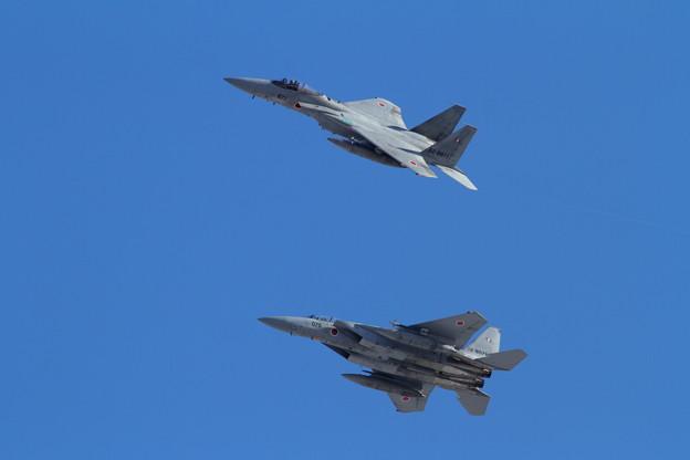 写真: F-15J 203sq Left pitch