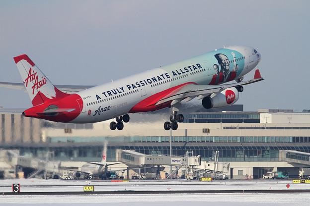 A330 AirAsia 9M-XXH takeoff