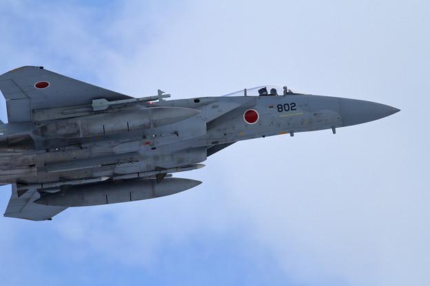 写真: F-15J 802 takeoff