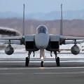 写真: F-15J 802 帰投 (1)