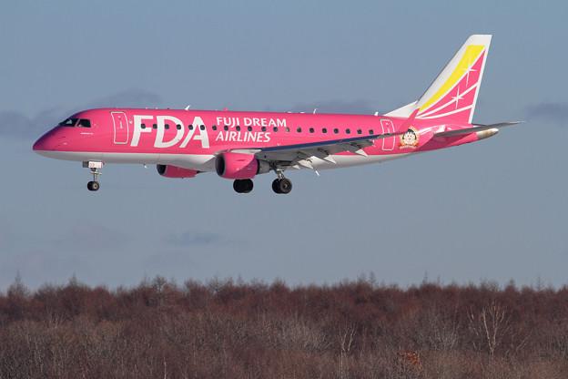 ERJ-175 FDA JA03FJも再塗装完了