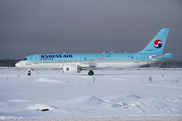 BombardierCS300 初撮り (2)