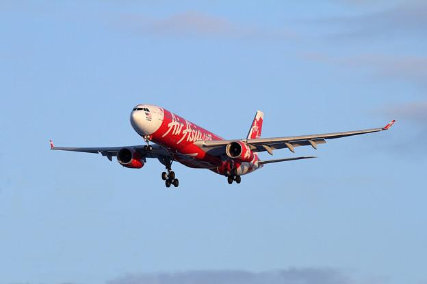 A330 XAX550 approach