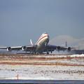 写真: B747 Cygnus02 takeoff