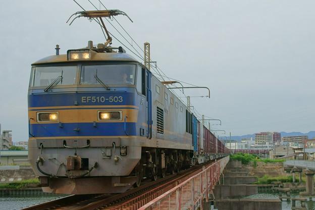 8060レ【EF510-503牽引】