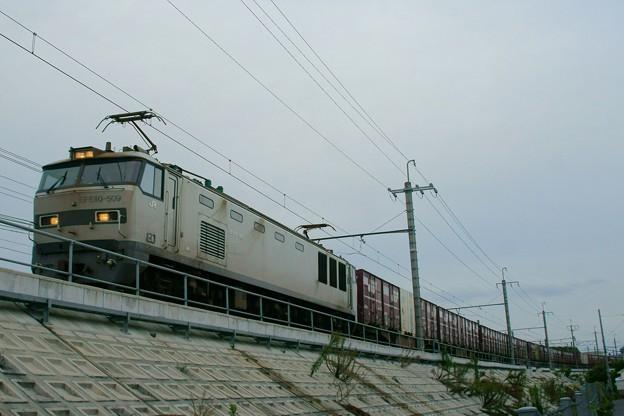 4076レ【EF510-509牽引】