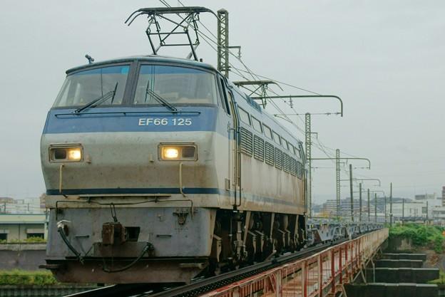 コキ甲種【EF66 125牽引】