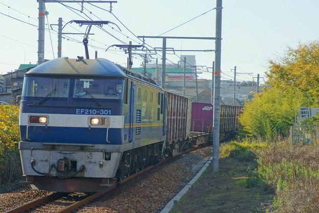 1086レ【EF210-301牽引】