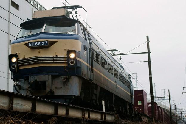 5071レ【EF66 27牽引】