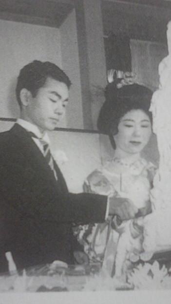 写真: 1960年、加藤一二三青年...