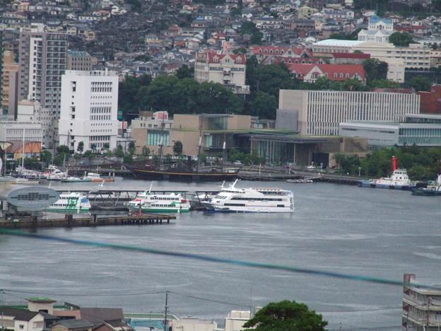 今朝の長崎港