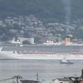 写真: コスタ・アトランチカ入港