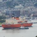 写真: 南極観測船しらせ出港 1