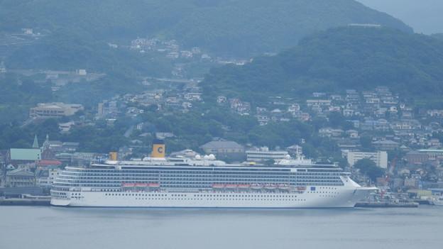 コスタ・アトランチカが入港しました