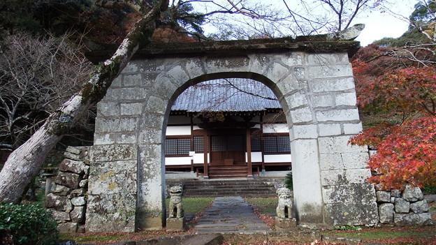 妙相寺の山門