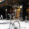 DSC_0036 一泊したホテルを後に・・・。