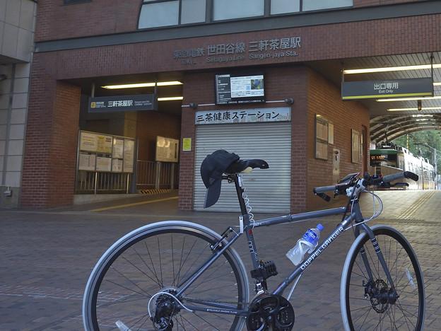 DSC_5722 東急世田谷線三軒茶屋駅