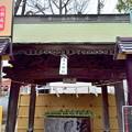 写真: 溝の口神社にて…。