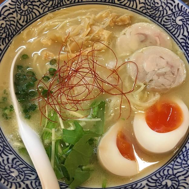 飯田橋/一楽/味玉濃厚鶏白湯