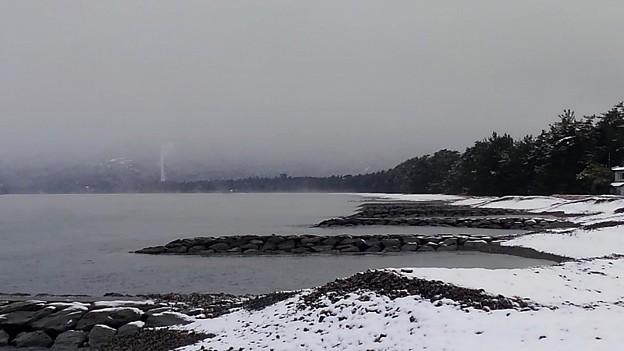 冬の天橋立