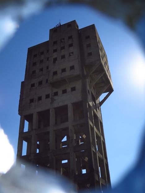 「竪抗跡の・・建物・・」 ・・・・