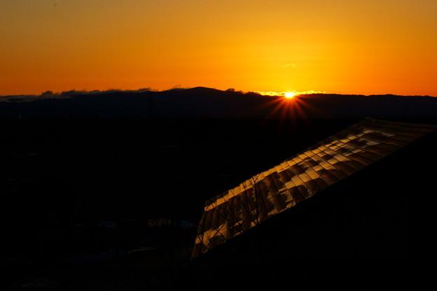 写真: 日の出~いつもの場所で