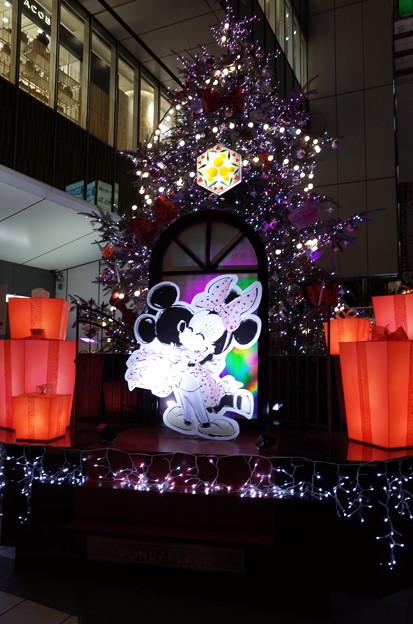 渋谷ヒカリエのクリスマスツリー