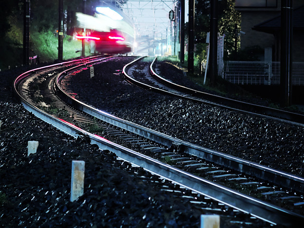写真: 鉄の道