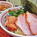 写真: 道頓堀 ( 成増 = ラーメン )  特製つけ麺