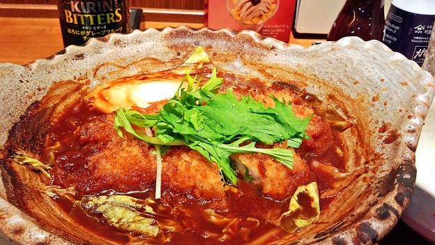 大戸屋 ( 成増 )  味噌かつ煮定食