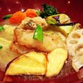 Photos: 大戸屋 ( 成増 )  すけそう鱈の生姜みぞれあん定食