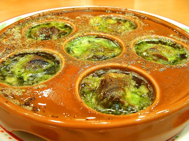 サイゼリヤ ( 成増駅南口店 )  エスカルゴのオーブン焼き