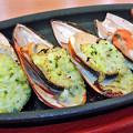 写真: サイゼリヤ ( 成増 )  ムール貝のガーリック焼き