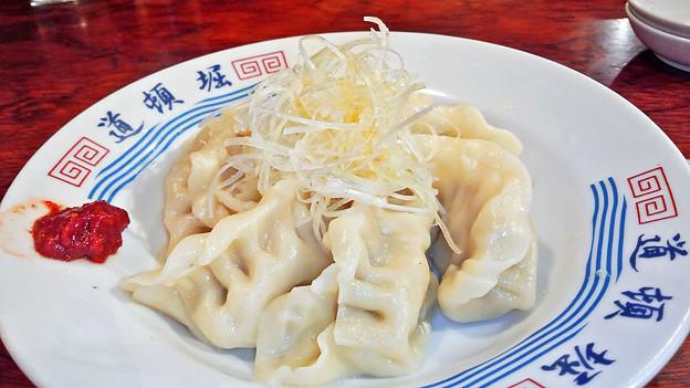 写真: 道頓堀 ( 成増 = ラーメン )  水餃子