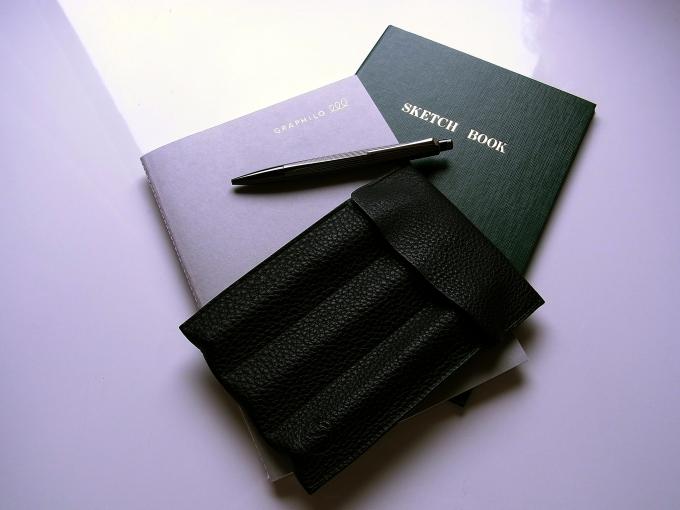 GRAPHILO方眼ノート,大きい野帳,RNX.316 PVD Blackなど
