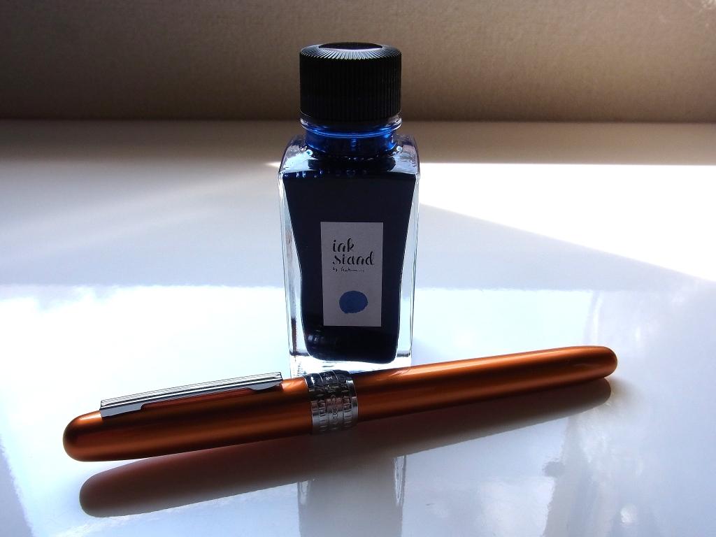 カキモリ 顔料インク ドレスブルー