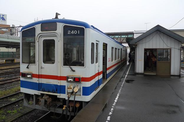 関東鉄道@下館駅