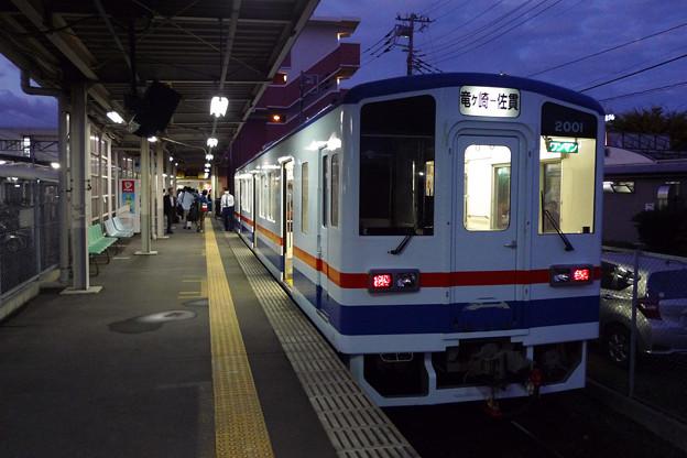 関東鉄道竜ケ崎線@佐貫駅
