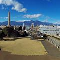 Photos: 甲府城天守台からの眺望