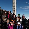 2010年、NIC登山部、富士山登頂