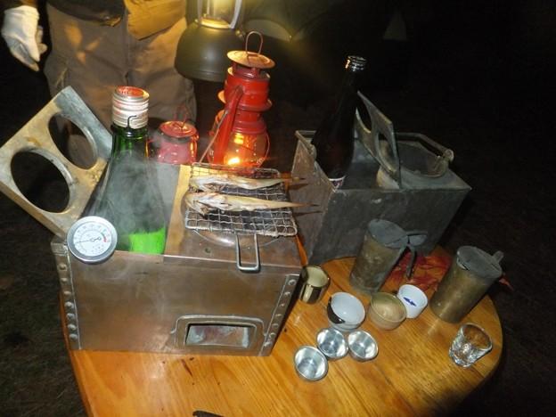 燗銅壺スタンバイ