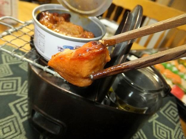 焼き鳥と燗銅壺